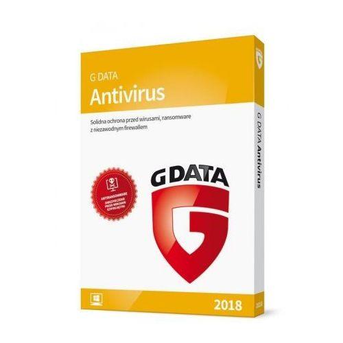 Program antivirus 2018 (1 pc, 1 rok) marki G data