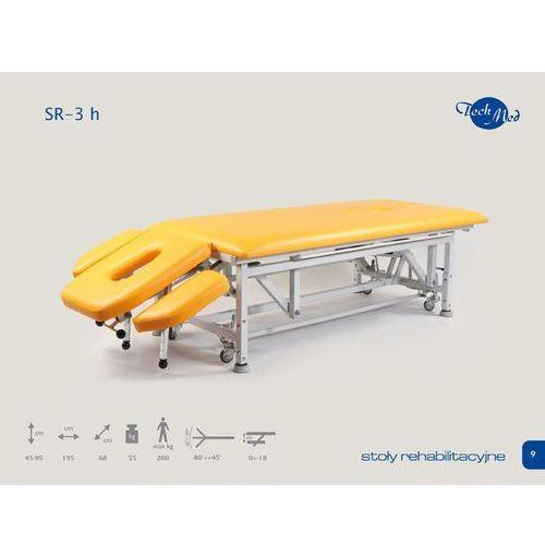 Rehabilitacyjny stół stacjonarny sr-3e h / atlas, marki Techmed