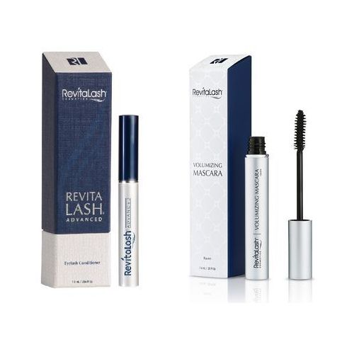 zestaw | eyelash conditioner advanced 1,0ml + volumizing mascara raven 7,4ml marki Revitalash