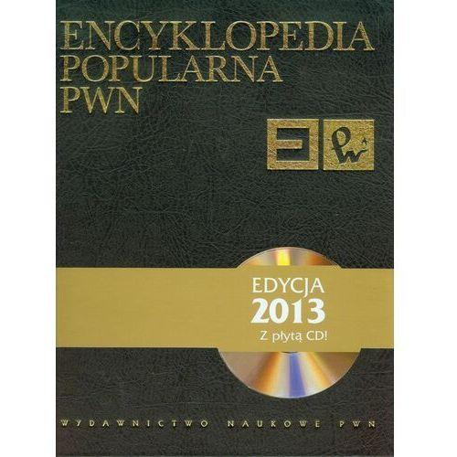 Encyklopedia popularna PWN + płyta CD, praca zbiorowa