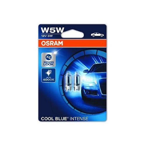 OSRAM W5W 12V 5W W2,1x9,5d COOL BLUE® Intense (temperatura barwowa do 4200K) (4052899418660)