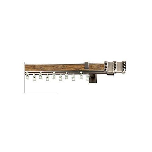 Karnisze aluminiowe AVENO / Karnisz AVENO Prestige ROTELLO podwójny antracyt-dąb - oferta [e5e7477bb765328c]