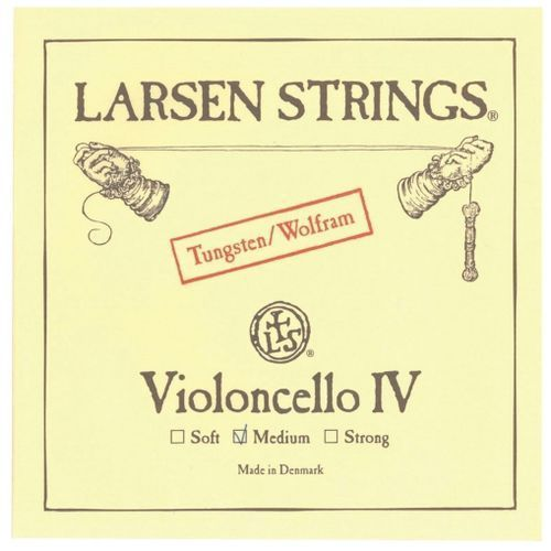 Larsen (639451) struny do wiolonczeli - Set - Medium 4/4