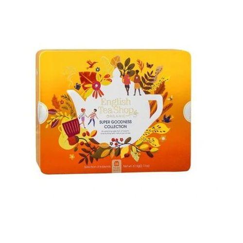 English tea sho Zestaw herbatek super goodness collection w ozdobnej puszce bio 61,5 g p