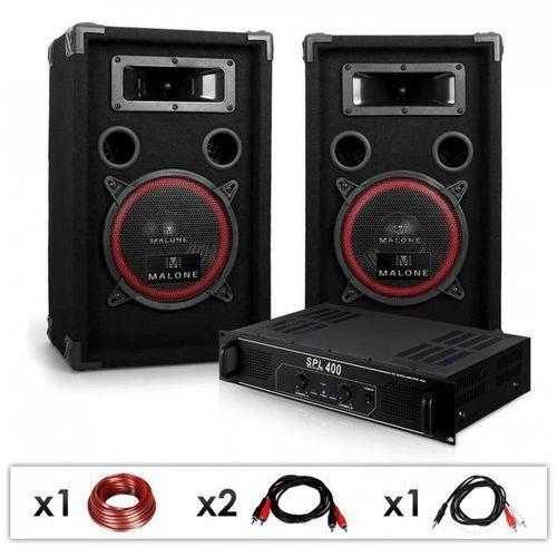 Zestaw dla dj-12 wzmacniacz, głośniki, 1000w marki Elektronik-star