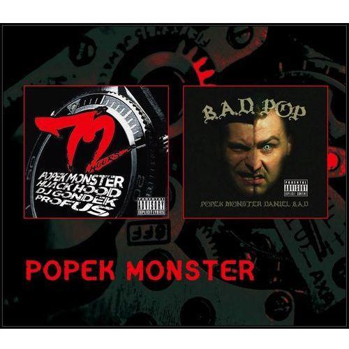 Popek Monster: 72 Hours i Bad P.O.P. (CD) - Various Artists