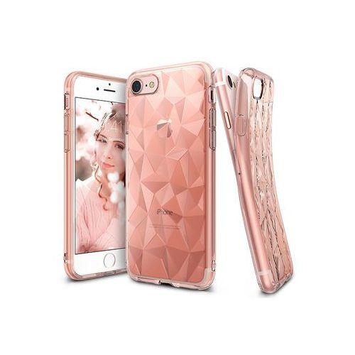 Apple iPhone 7 - etui na telefon Ringke Air Prism - różowy, ETAP403RGAPPIK000