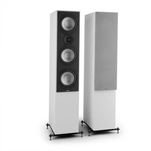 Numan Reference 801 para 3-drożnych kolumn stojących białe ze srebrnymi osłonami