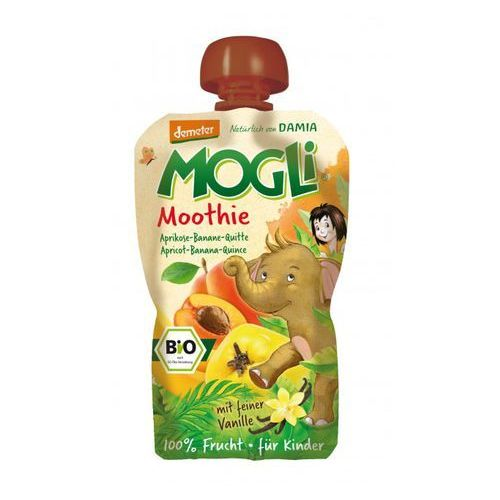 Moothie przecier morelowy z bananem, pigwą, wanilią bio 100 g - mogli marki Mogli (moothie owocowe, batony, napoje)