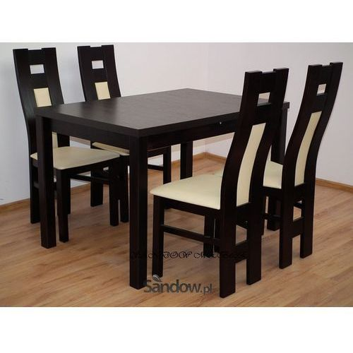 Tani zestaw, stół plus 4 krzesła, Promocja z kategorii zestawy mebli kuchennych
