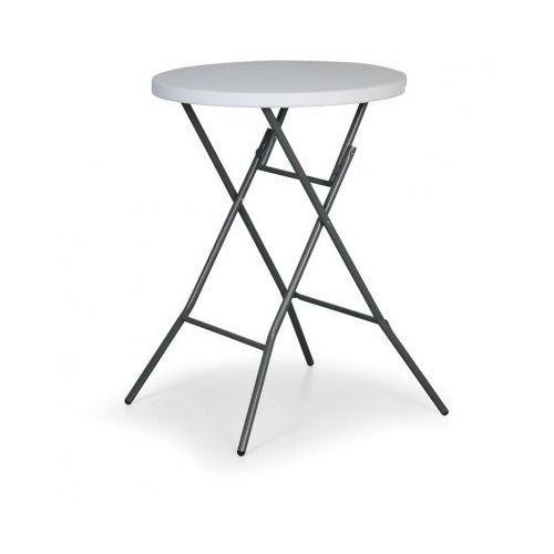 Okrągły stół cateringowy, średnica 800 mm, wysokość 1100 mm