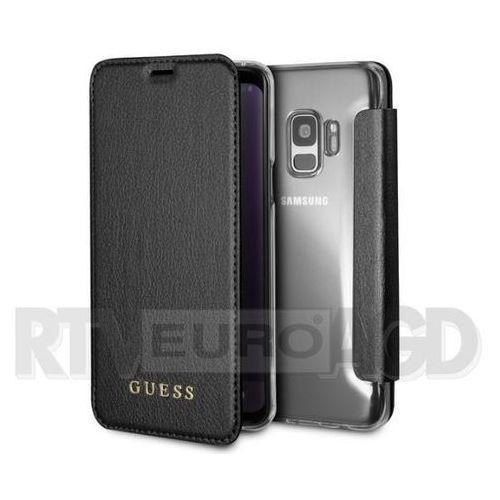Guess Book GUFLBKS9IGLTBK Samsung Galaxy S9 G960 (czarny)