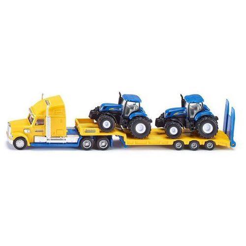 Siku Ciężarówka z traktorami new holland (4006874018055)