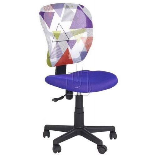 Fotel młodzieżowy Halmar Jump fioletowy - gwarancja bezpiecznych zakupów - WYSYŁKA 24H, kolor fioletowy