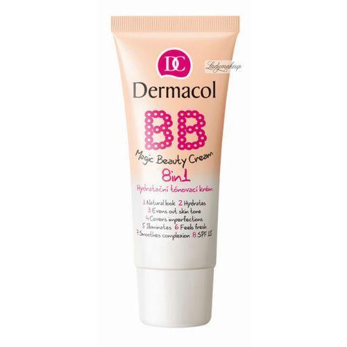 Dermacol - bb magic beauty cream 8in1 - krem bb 8w1 - sand