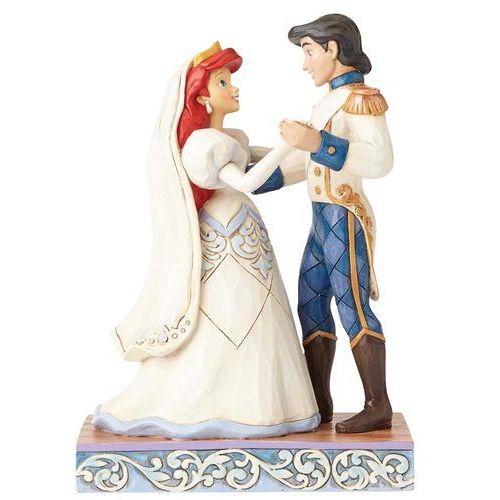 Ślubna para arielka i eryk wedding bliss (ariel & prince eric figurine) 4056749 artysty figurka ozdoba świąteczna marki Jim shore