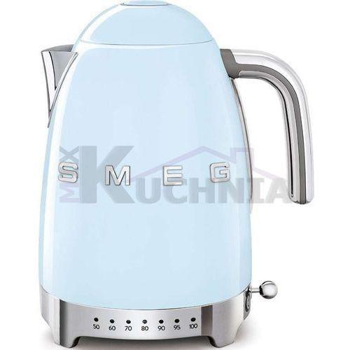 Smeg Czajnik elektryczny klf04pbeu pastelowy błękit z regulacją temperatury