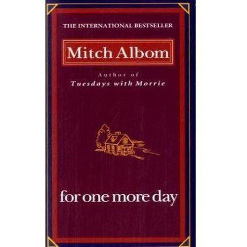 For One More Day. Nur einen Tag noch, englische Ausgabe (9780786891177)