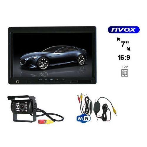 Nvox Zestaw monitor zagłówkowy lub wolnostojący lcd 7