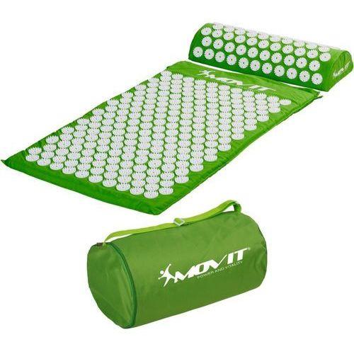 Zielona mata zdrowotna do akupresury z kolcami na ból pleców - zielony marki Movit ®