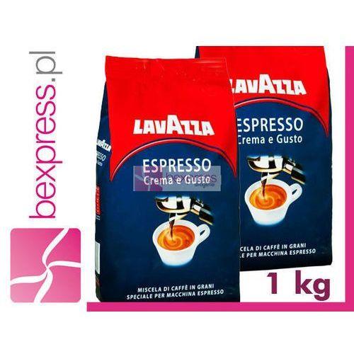 Lavazza kawa ziarnista 1 kg espresso crema e gusto marki Luigi lavazza