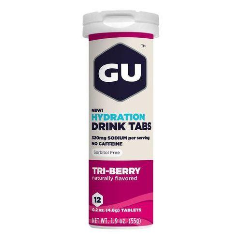 brew hydration żywność dla sportowców owoce leśne 12 sztuk różowy/biały 2018 napoje izotoniczne i inne marki Gu energy