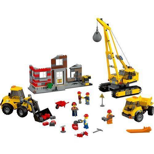 Lego City ROZBIÓRKA 60076 z kategorii: klocki dla dzieci