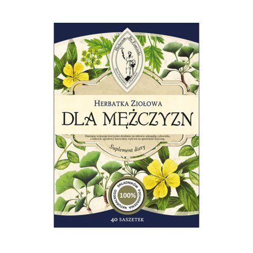 Herbarium św. franciszka Herbatka ziołowa dla mężczyzn suplement diety darmowa dostawa od 65 zł