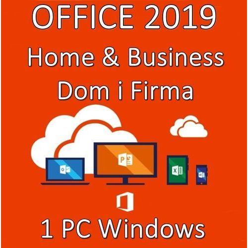 Microsoft Office home business 2019/wersja pl/klucz elektroniczny/szybka wysyłka/f-vat 23%