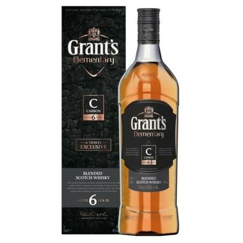 William grant & sons Whisky grant's elementary carbon 6yo 40% 1l