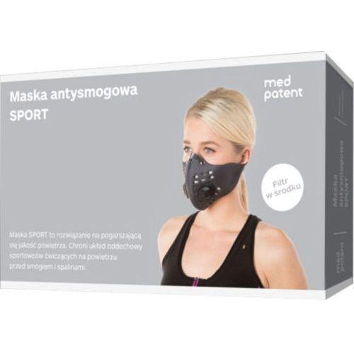 Maska antysmogowa dla sportowców marki 3m