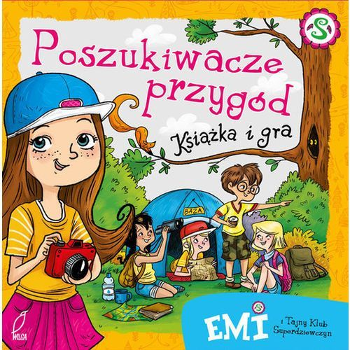 Emi i Tajny Klub Superdziewczyn Poszukiwacze przygód Książka i gra - Dostawa 0 zł (2016)