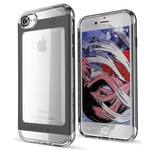 Ghostek Etui cloak 2 apple iphone 8/7 black + szkło