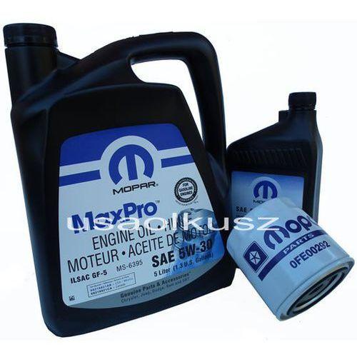 Mopar Oryginalny filtr oraz mineralny olej 5w30 jeep grand cherokee 4,7 v8 -2008