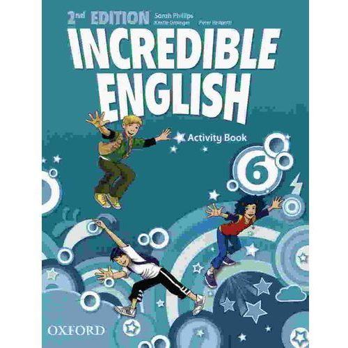 Incredible English 6 SP Ćwiczenia 2E. Język angielski