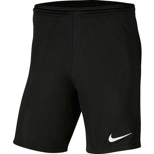 Spodenki dla dzieci Nike Dry Park III NB K czarne BV6865 010