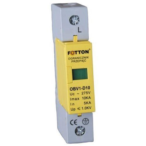 Ogranicznik przepięć FOTTON OBV1-D 5/10kA klasa D, ochronnik przciwprzepięciowy