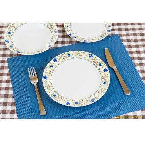 18 EL SERWIS OBIADOWY OKRĄGŁY PORCELANOWY KOMPLET (serwis obiadowy) od herbata-porcelana.bazarek.pl