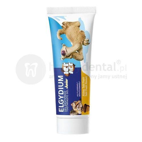 Pierre fabre Elgydium junior ice age pasta do zębów dla dzieci o smaku tutti frutti - 50 ml