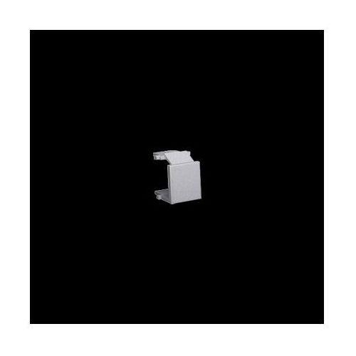 Kontakt-simon Zaślepka otworu wtyku rj45/rj12 do pokrywy gniazda teleinformatycznego; stal inox