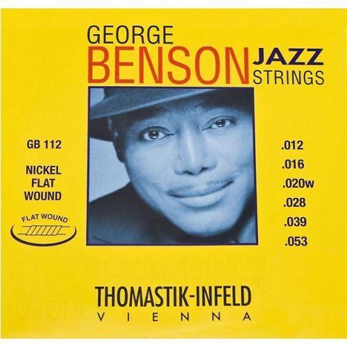 (676654) struny do gitary elektrycznej george benson jazz guitar.028fw marki Thomastik