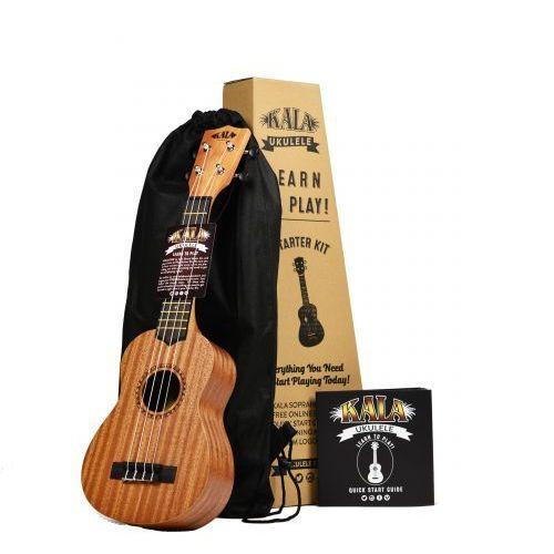 Kala Learn to play, pakiet startowy ukulele sopranowe + dodatki