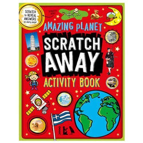 Scratch Away Amazing Planet ćwiczenia dla dzieci