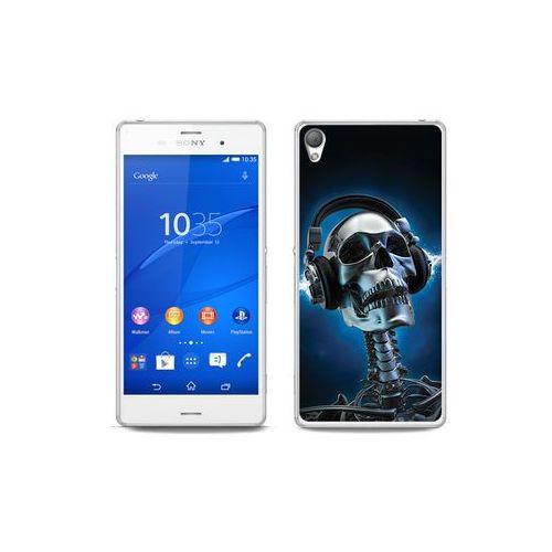 etuo Fantastic Case - Sony Xperia Z3 - etui na telefon Fantastic Case - szkielet ze słuchawkami, ETSN125FNTCFC083000