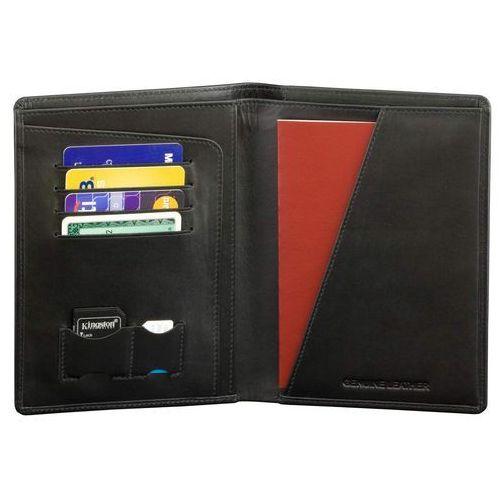 55c79ba0b54b4 Koruma® ✅ portfel skórzany podróżny rfid karty zbliżeniowe dokumenty czarny  - czarny mat 94