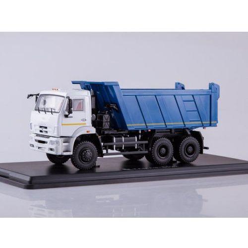 KAMAZ-6522 6x6 Dump Truck (facelift) (white/blue) - DARMOWA DOSTAWA!!!, 5_584344
