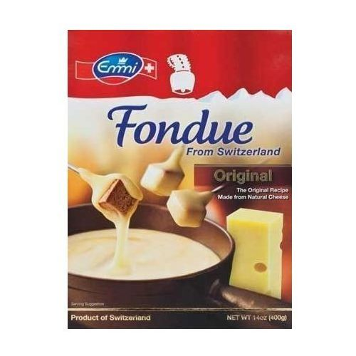 Ser szwajcarski do FONDUE firmy Emmi 4 x 400g
