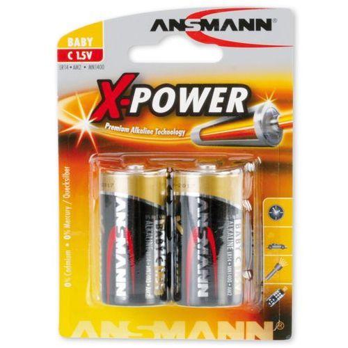 Ansmann bateria x-power alkaliczna 2xc (lr14) (4013674003792)
