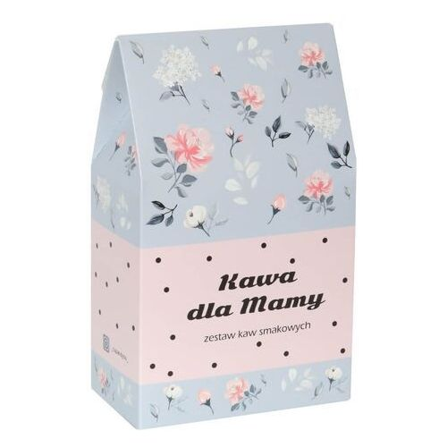 Cup&you cup and you Kawa dla mamy w kwiecistej torebce - prezent upominek dla mamy z okazji dnia matki z kawą mieloną arabica - 10 smaków x 10g