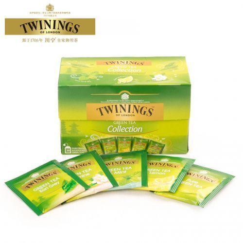 TWININGS Herbata ekspresowa Green Tea Collection 25 saszetek, 743